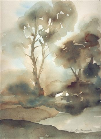 2004 Misty Morning Watercolour