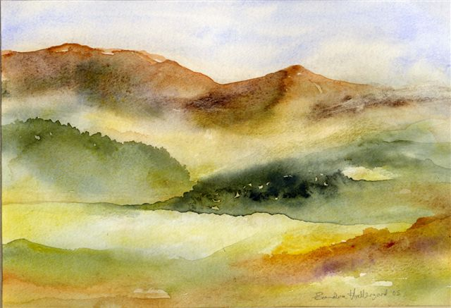 2005 Landscape Watercolour