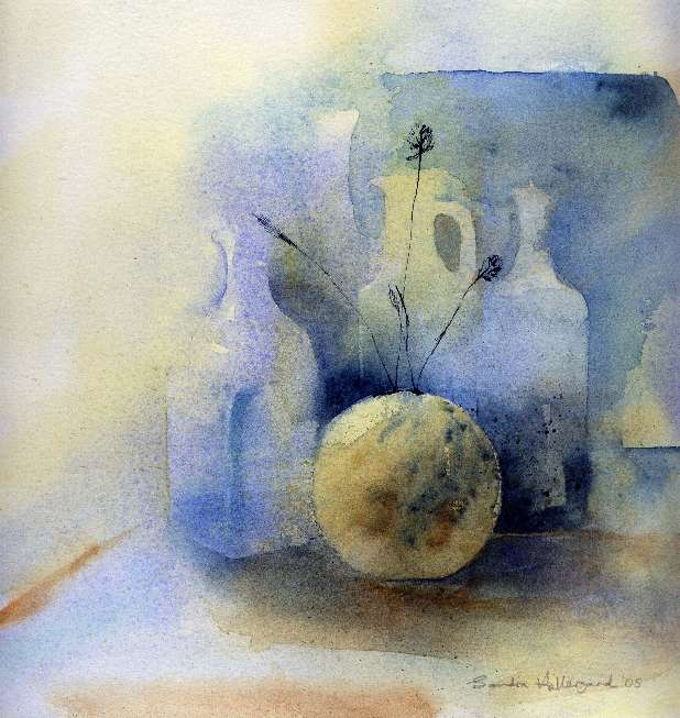 2005 Out of the blue Watercolour