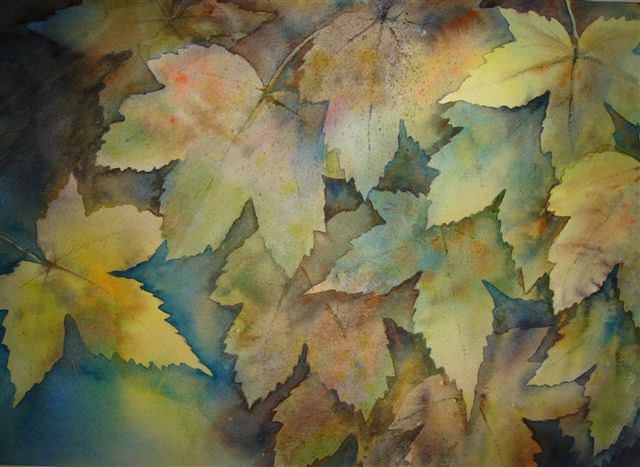 2007 Autumn Tints Watercolour