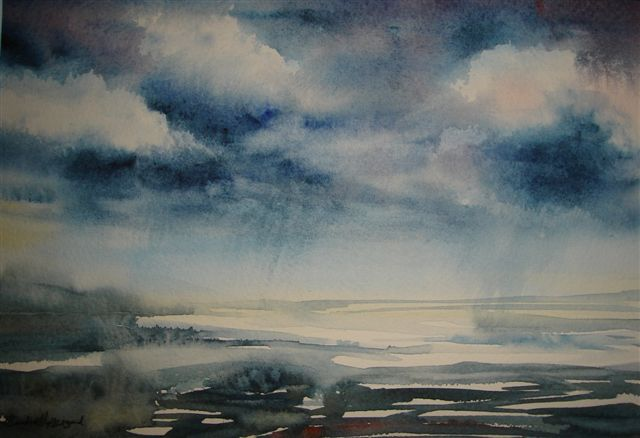 2007 Stormy Sky Watercolour