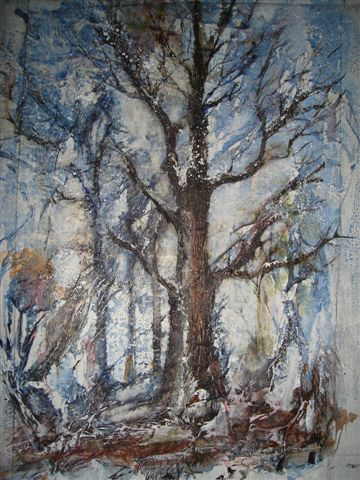 2007 Winter Tree Watercolour