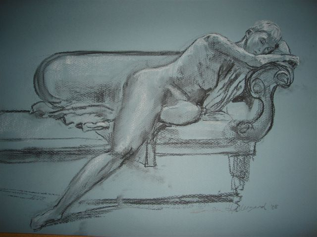 2008 Irene Resting Charcoal