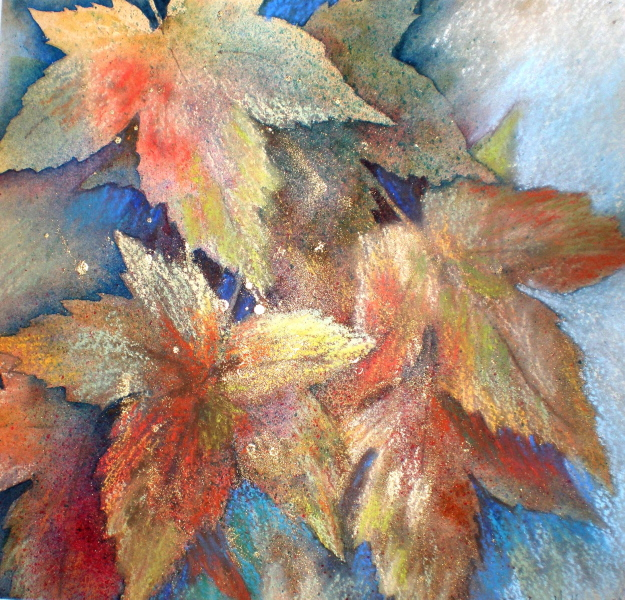 2008 Leaves 2.JPG Watercolour