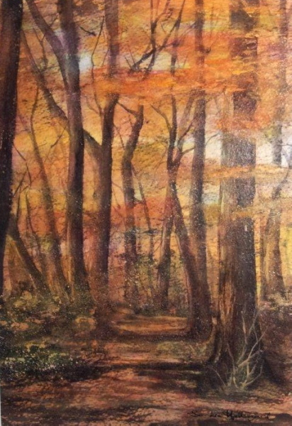 2011 Autumn Woods Acrylic