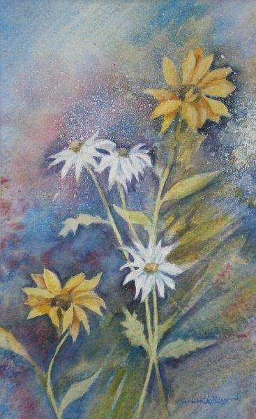 2011 Daisies Watercolour