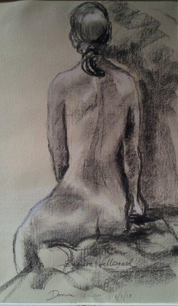 2012 Donna Charcoal