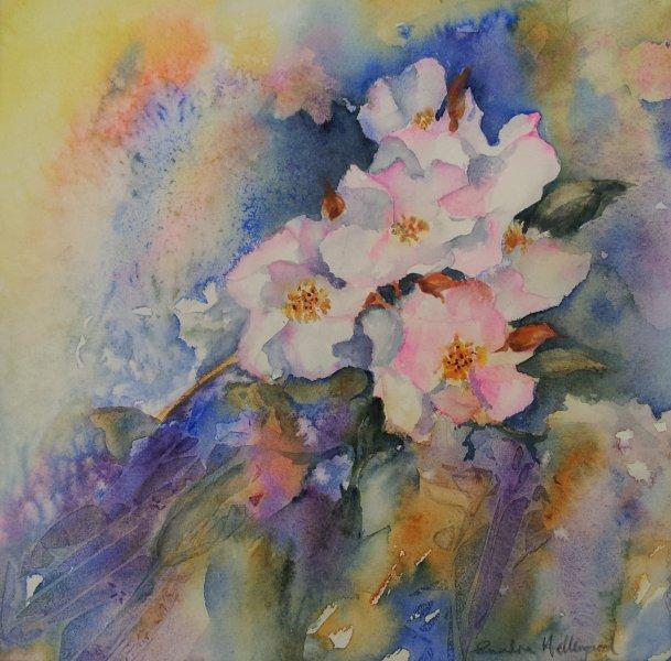 2012 Wild Roses  Watercolour