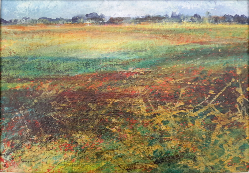 2015 Autumn Fields Acrylic