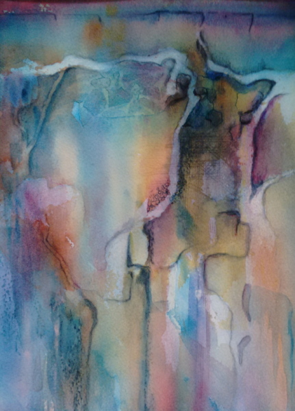 2015 Beneath the surface Watercolour
