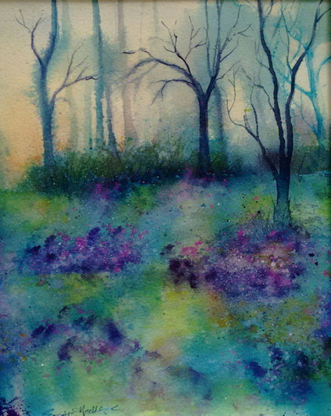 2015 BlueBell Woods Watercolour
