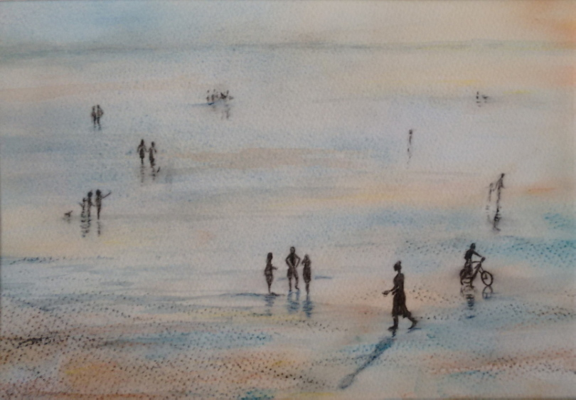 2015 The Tide is Out Watercolour