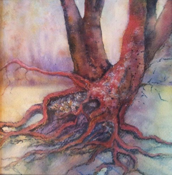 2015 Tree Mixed Media