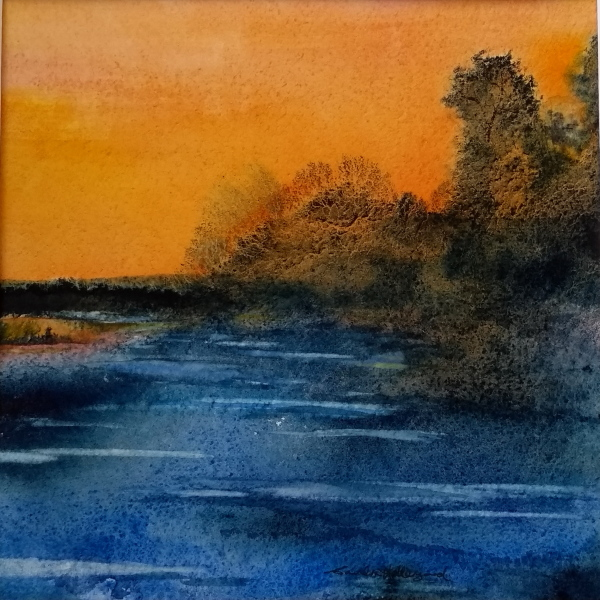 2017 Evening Glow Watercolour