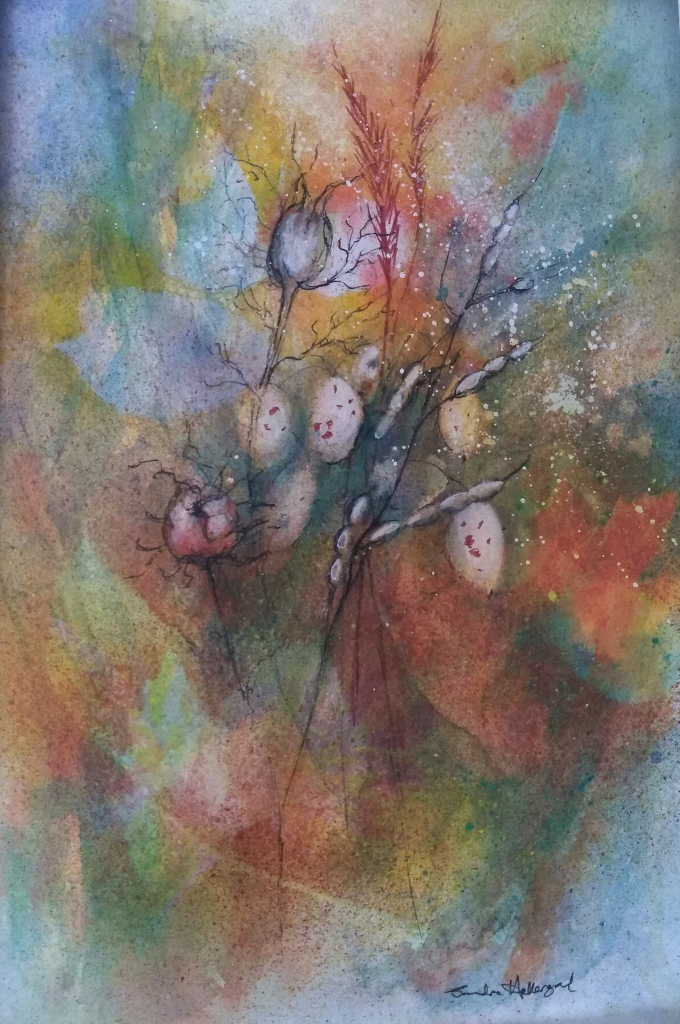2018 Autumn Colours Watercolour + ink