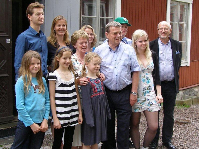 Krister and his family